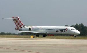 Las prácticas de un avión de Volotea causan alarma