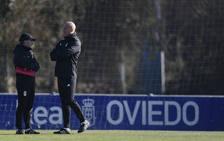 Entrenamiento del Real Oviedo (21-2-19)