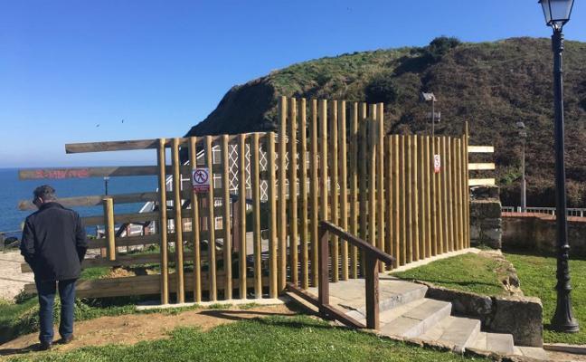 Se inician las obras para cubrir la pista del cerro de Santa Catalina