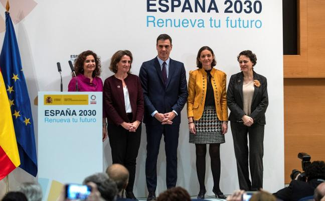 Sánchez promete un «impacto cero» de la descarbonización sobre el empleo en Asturias