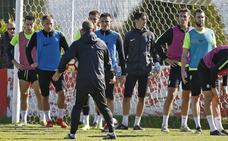 Sporting | José Alberto ensaya con Lod en el enganche