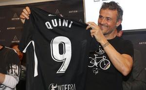 Luis Enrique recuerda a Quini: «Era una persona que merecía mucho la pena»