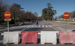 Cambios en los autobuses a El Molinón por las obras en la zona