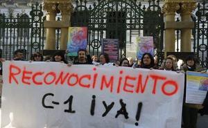 Técnicos sanitarios llevan su protesta ante la Junta