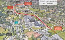 Fomento se da un año para diseñar el nuevo tramo del túnel del metrotrén a Cabueñes