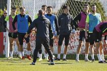 Entrenamiento del Sporting (21/02/2019)