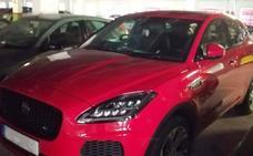 Roban un Jaguar en Reino Unido y aparece diez meses después en Oviedo