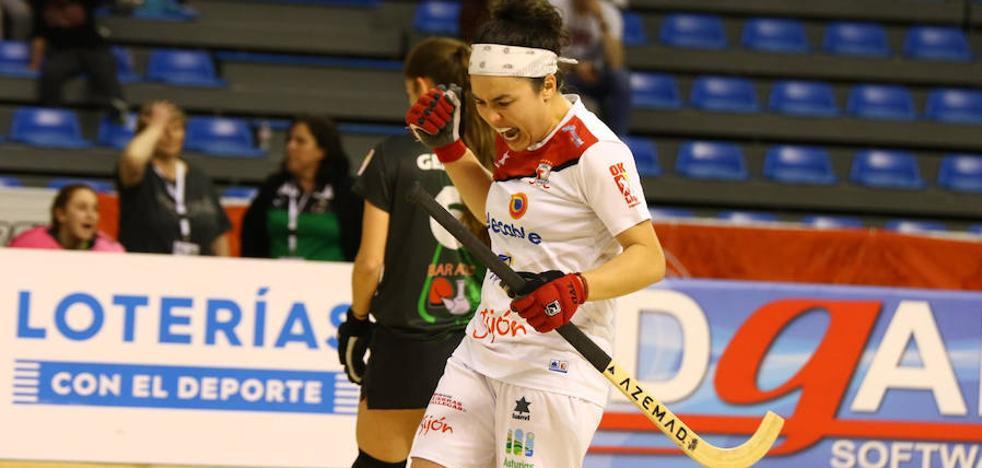 El Telecable Hockey se jugará el pase a la final con el Vila-Sana
