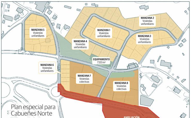 Plan especial para Cabueñes Norte