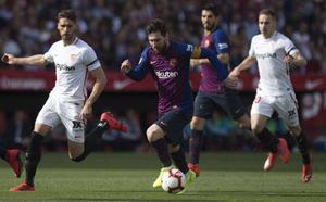 Sevilla-Barcelona, en directo