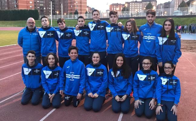 La Atlética, en el nacional de campo a través de Jaén con tres equipos