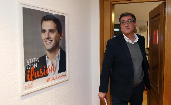 Prendes se postula para liderar la lista de Ciudadanos al Congreso por Asturias