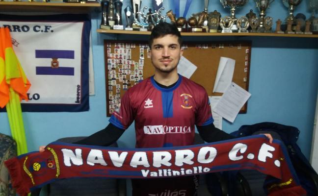 El Navarro se refuerza con el delantero Giancar, que llega desde el Praviano