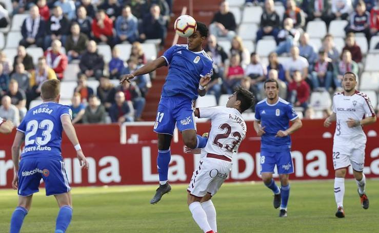 Las mejores imágenes del Albacete 0 - 0 Oviedo