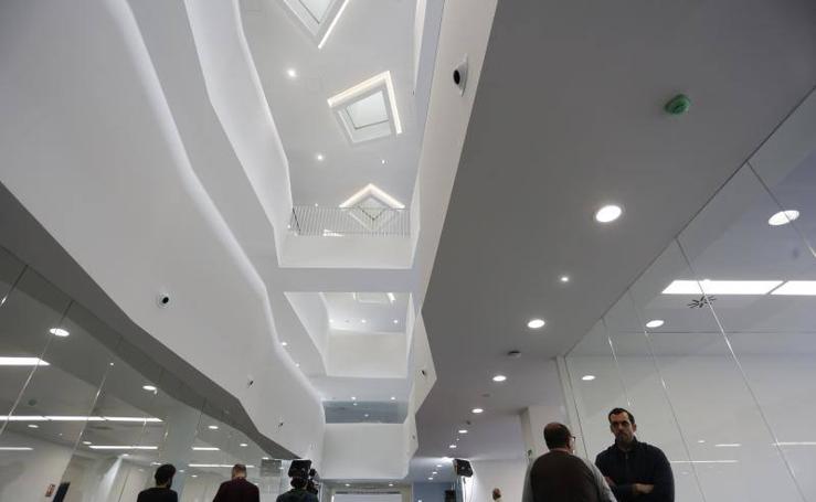 Así es el nuevo edificio administrativo de Poniente