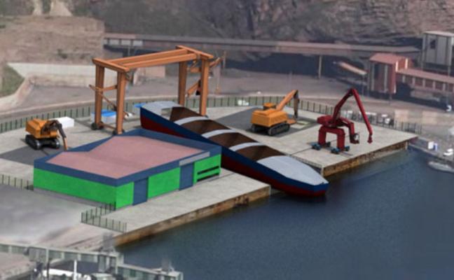 El desguace de El Musel entrará en funcionamiento en el mes de mayo
