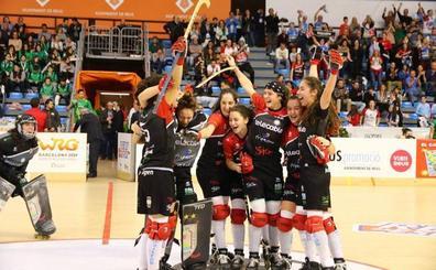 El Telecable Hockey conquista su cuarta Copa de la Reina