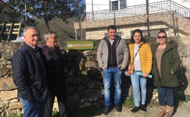 Campaña en Laviana para recuperar la toponimia de los pueblos