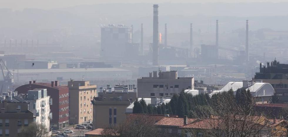 El Principado mantiene la alerta por contaminación en Gijón y Oviedo y estudia ampliarla a Avilés