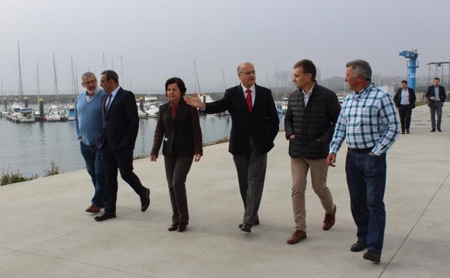 La construcción del nuevo muelle de Luanco empezará este año