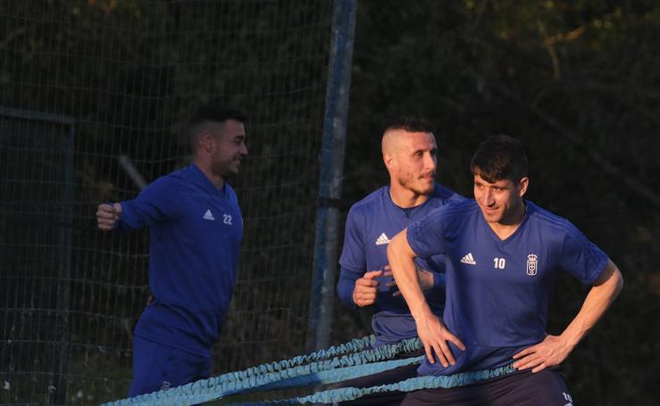 Entrenamiento del Real Oviedo (26-02-2019)