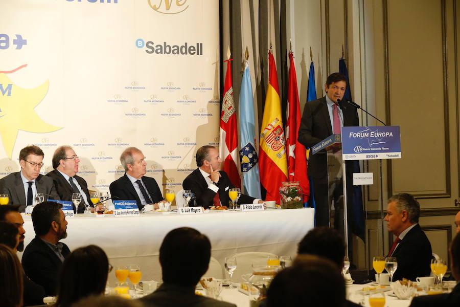 Asturias, Galicia y Catilla y León defienden el Corredor Atlántico