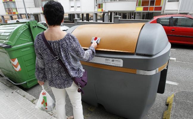 350 contenedores marrones más en Gijón