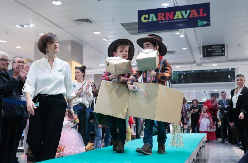Concurso infantil de disfracesde El Corte Inglés
