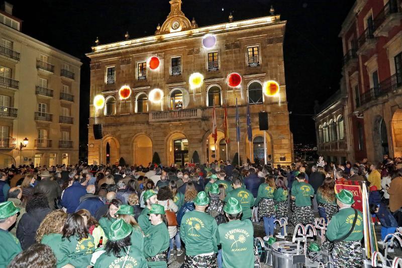 Arranca el Antroxu en Gijón
