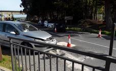 Un herido grave en una colisión entre dos vehículos en Vegadeo