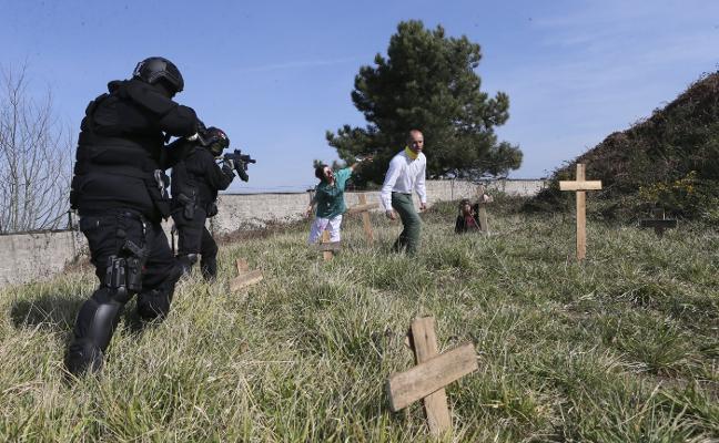 El monasterio de El Cuetu será escenario de un juego de temática zombie