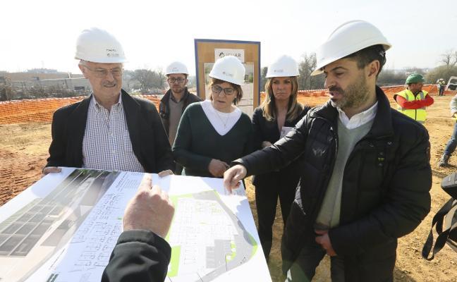 La estructura de la residencia de Lugones estará lista en junio