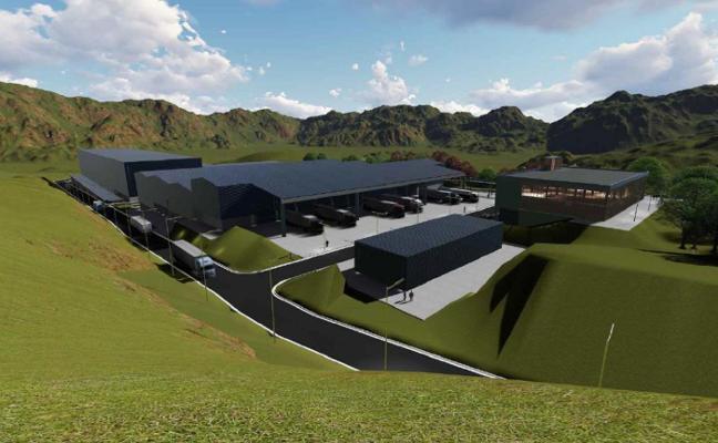 La planta de Cogersa que tratará residuos domésticos no reciclados se activará en 2023