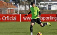 Javi Noblejas, novedad en la lista del Sporting