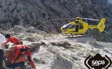 Una senderista resulta herida en la Ruta del Cares en Cabrales