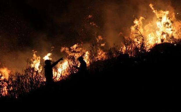Asturias Está En Riesgo Extremo De Incendios Con Cinco Fuegos