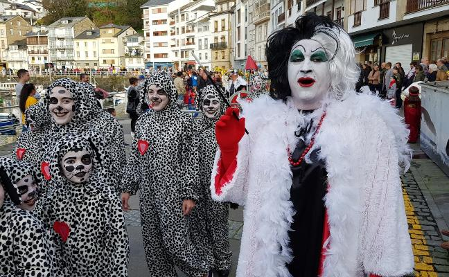 Luarca disfruta de un carnaval «de récord»