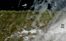 Última hora sobre los incendios forestales en Asturias