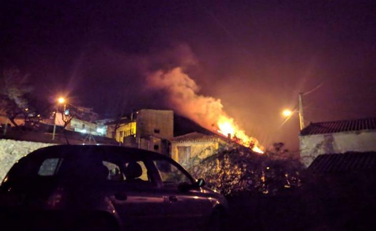 Las imágenes de los incendios en Llanes