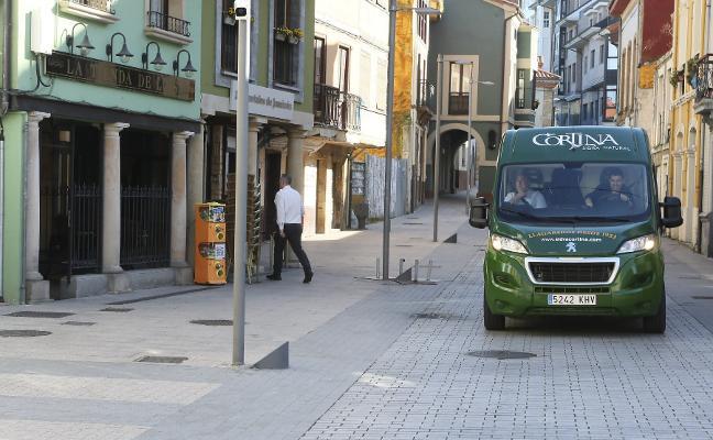 Las cámaras de Siero multan a los vehículos de una empresa pese a que pagó la tarjeta
