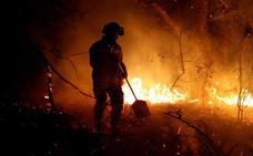 Incendios en Asturias   Las llamas se ceban con el norte de España
