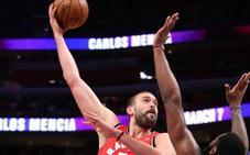 Marc Gasol e Ibaka no evitan la derrota de los Raptors