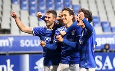El Real Oviedo B se impone con claridad al Sporting B en el derbi de filiales (2-0)