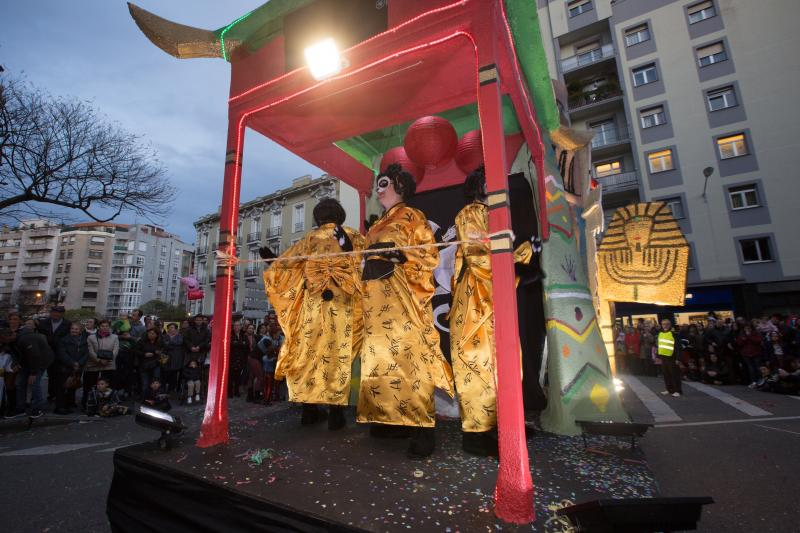 'La Vuelta al Mundo de Willy Fog', vencedora en el desfile de carnaval
