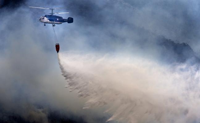 Incendios en Asturias: «Si no limpian los montes, arden por las cuatro esquinas»