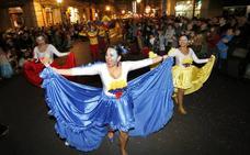 Carnaval de Gijón: Una animalada de desfile de Antroxu