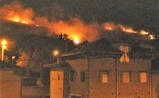 Incendios en Asturias: «El fuego casi se nos mete en casa»