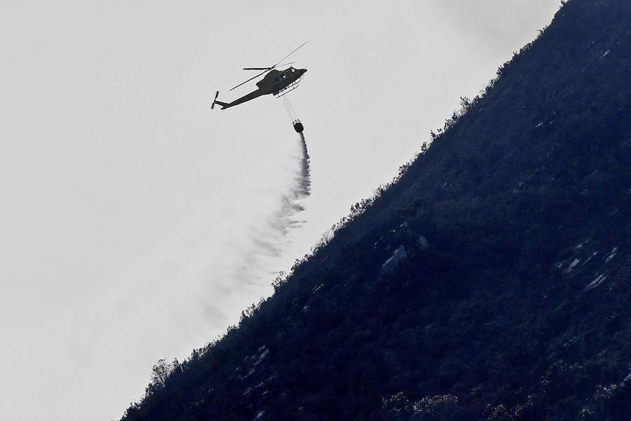 El Occidente asturiano, castigado por las llamas