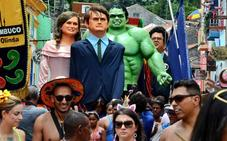 Bolsonaro comparte un vídeo obsceno para atacar el carnaval