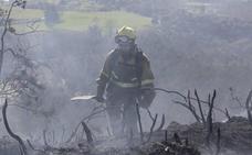 Incendios en Asturias: Sorprendido un incendiario cuando prendía fuego al monte en Onís